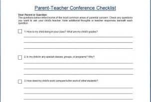 parent teacher conference reminder forms images