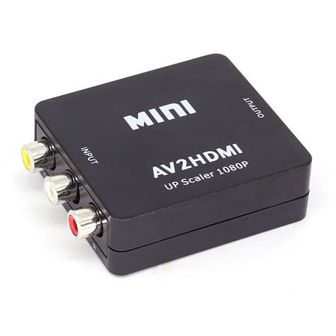 hdmi to av hdmi converter from whitebox original composite rca av hdmi cvbs to hdmi adapter hd