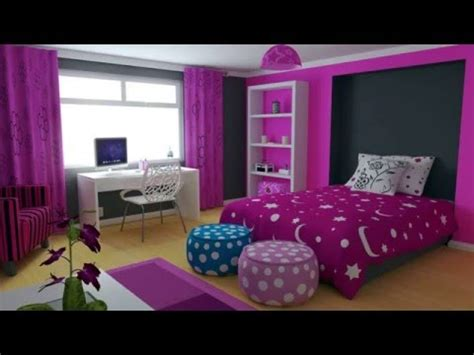girls bedroom  purple decorating ideas youtube