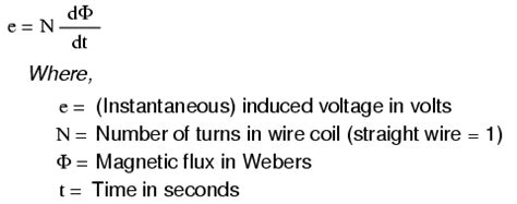 magnetic flux inductor formula inductance and basic operation transformers electronics textbook