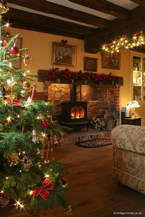 164 best english christmas cottage images on pinterest