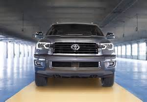 Toyota Sequoia Headlights 2018 Toyota Sequoia Gets A Facelift A Trd Sport Model