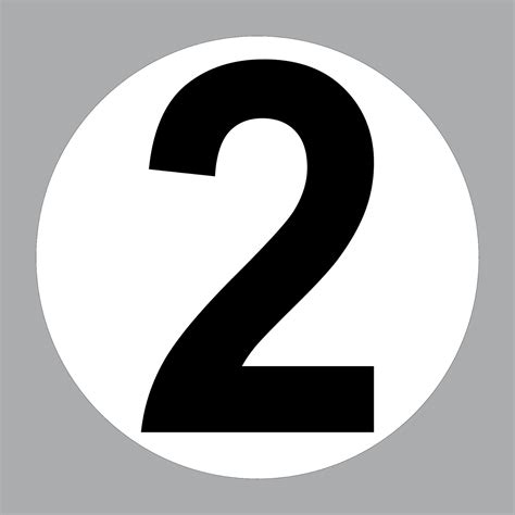Racing Nummern Aufkleber by 2 Aufkleber 20cm Start Nummer 2 Ziffer Zahl Sticker Racing