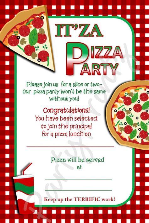 Pizza Invitation Template pizza invitation template free ideas