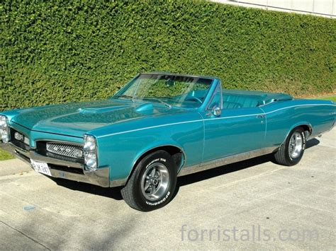 Pontiac Convertible For Sale by 1967 Pontiac Gto Convertible For Sale