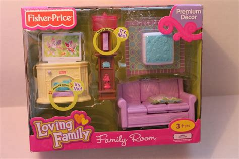 Loving Family Living Room by Fisher Price Loving Family Living Room Tv L