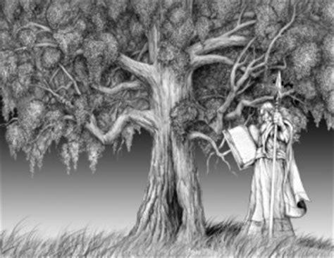 the oak tree in mythology symbolic meaning