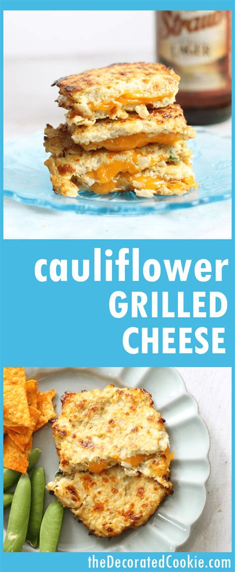 cauliflower grilled cheese grilled cheese with cauliflower bread is a low carb keto