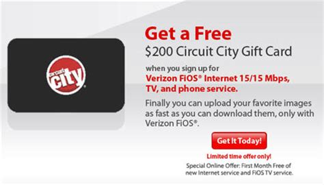 Verizon Fios Gift Card - verizon told me their fios gift card promotion never even existed consumerist