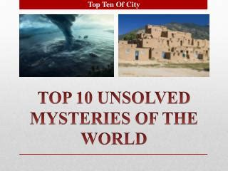 top 10 unsolved murder mysteries ppt the mysteries of harris burdick powerpoint