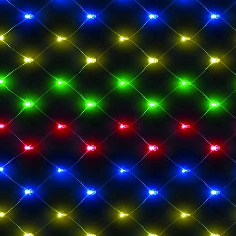 chasing led lights energizer battery operated 4ft x 4ft chasing net with 100