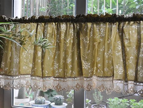 french country curtains for kitchen french country floral rose cafe kitchen curtain valance