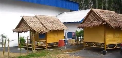 Make House Plans these thai workers built a home out of bamboo in 6 hours