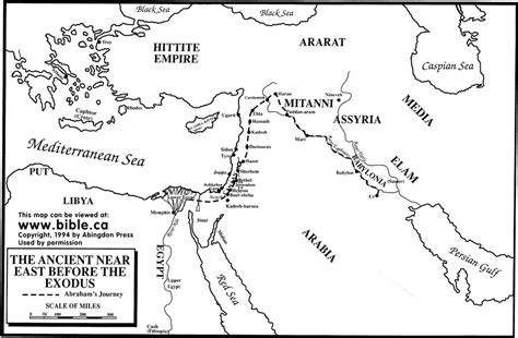 map of ancient near east the visual word