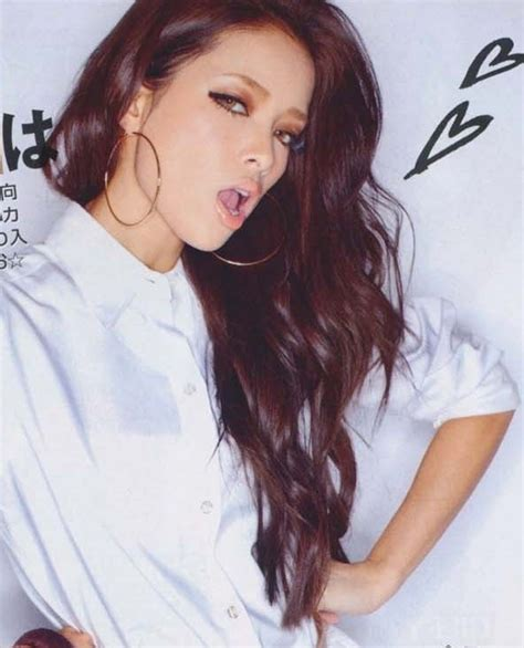 red and dark brown hairstyles dark red and brown hair color magazine scans of hair and