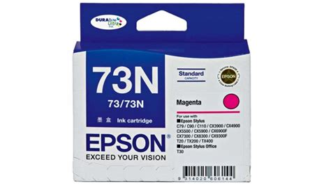 Penarik Rumah Cartridge Epson T20 buy epson 73n magenta colour ink cartridge harvey norman au