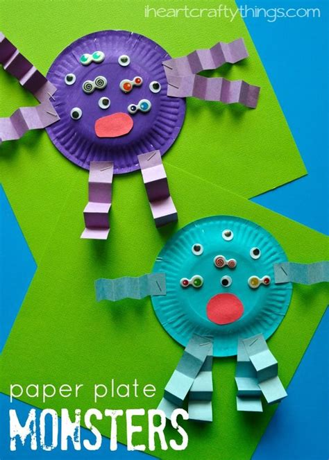 Simple Paper Plate Crafts - best 25 crafts ideas on