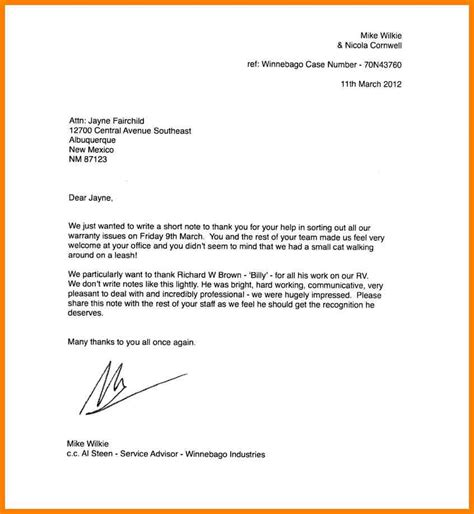 thank you letter from to employee leaving 8 testimonial for employee g unitrecors