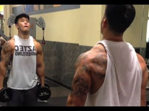 back and biceps bartkwan youtube