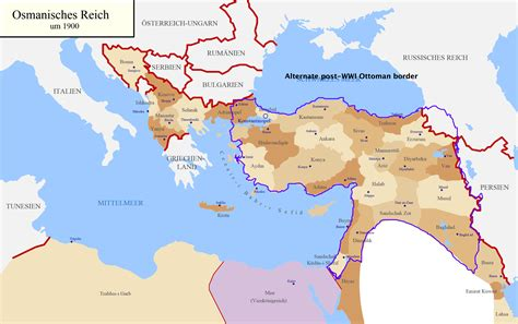 Ottoman Empire In Ww1 Ahc Ottoman Empire Finishes Wwi With These Borders Alternate History Discussion