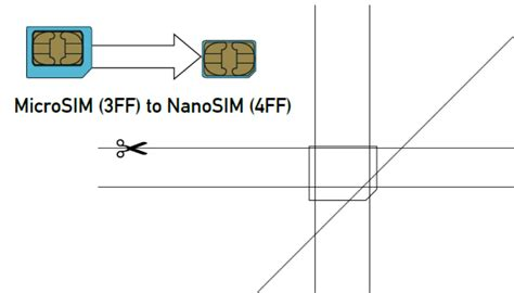 Micro To Nano Sim Template micro sim card to nano sim card images 1253 techotv