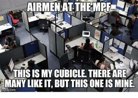 Cubicle Meme - airmen at themrfe this is my cubicle thereare likeit but