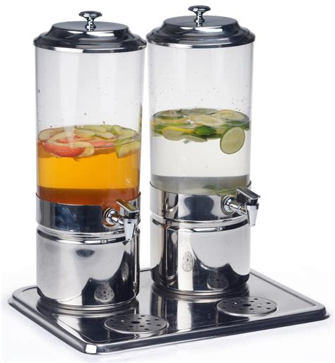 drink dispenser 2 compartment drink dispenser 1 8 gallon polycarbonate