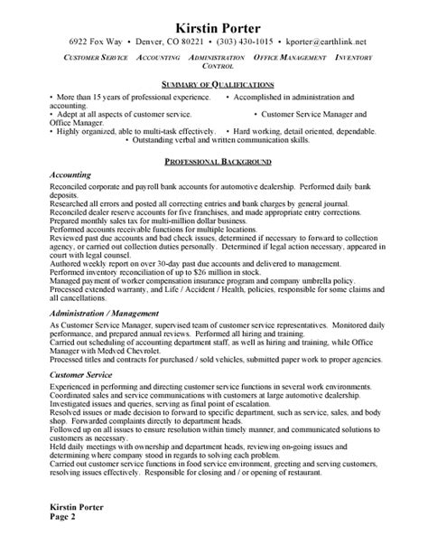 Sample Cover Letter: Sample Resume For Office Manager