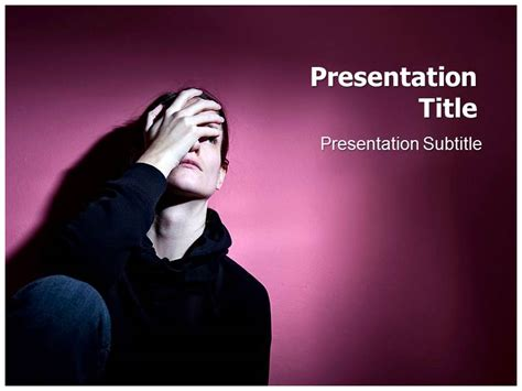 depression powerpoint presentation template depression