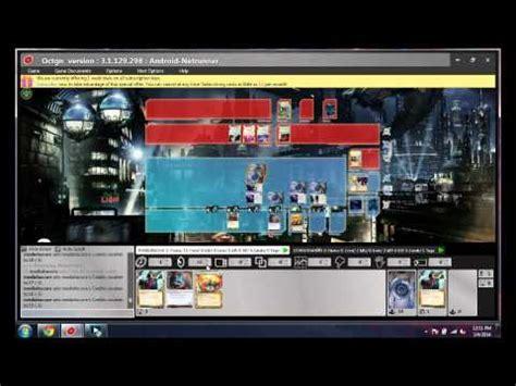 tutorial android netrunner full download android netrunner octgn use tutorial
