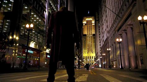 dark knight cleverly built gotham   chicago