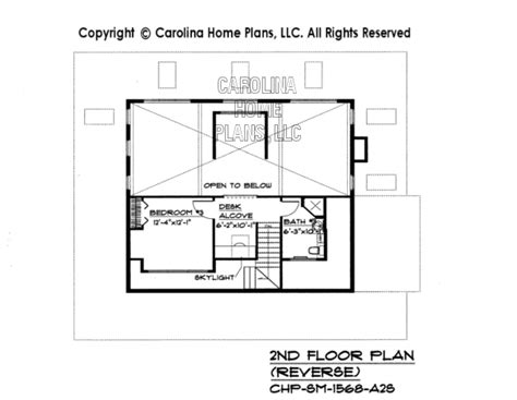 reverse floor plan small 2 story open house plan chp sm 1568 a2s sq ft affordable two story home plan under 1600