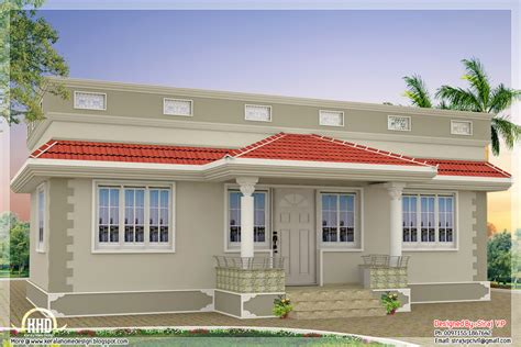 1000 sq kerala style single floor 3 bedroom home