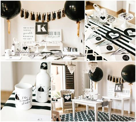 party themes black black and white party dress up ideas sweet 16