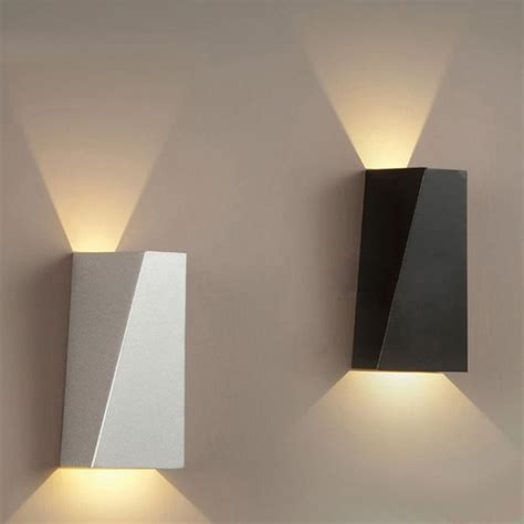 led wall sconces sle design led wall lighting black box