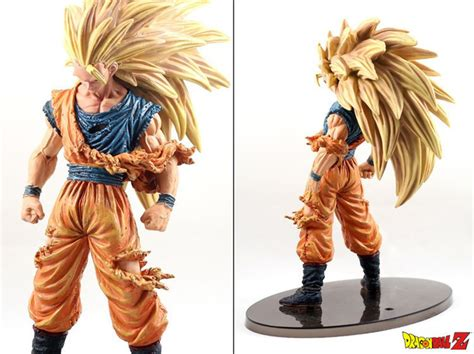 Figure Goku Ssj3 Figure Scultures 6 Vol 5 Ori z saiyan 3 goku big size figures
