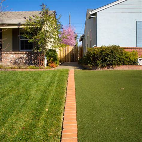 Landscape Ideas To Divide Yards Clever Photos Document Property Lines In Suburban