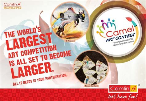 Contests And Sweepstakes 2014 - camel art contest 2014 by kokuyo camlin kids contests