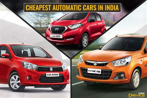 budget automatic cars