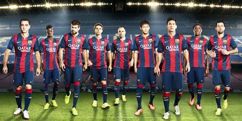 Kaos 3d Jersey Barcelona Home Kuning ini dia detil terbaru jersey home barcelona 2014 15 si momot