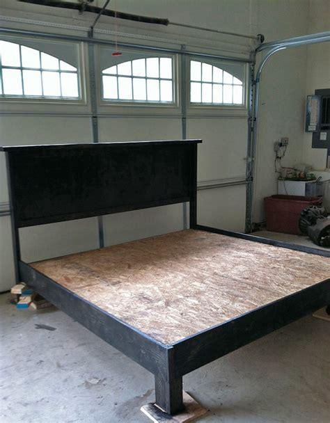 diy cal king platform bed frame