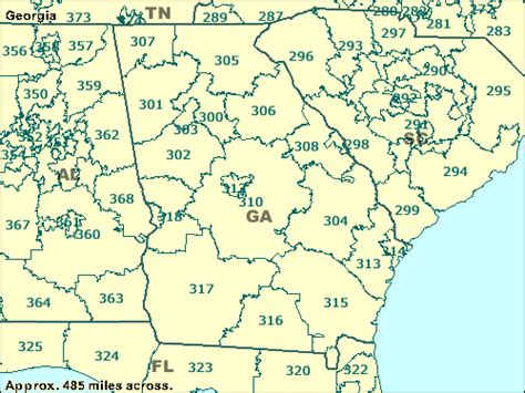 us area codes starting with 0 3 digit zip code map
