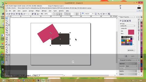 desain kartu nama coreldraw x3 tutorial singkat membuat kartu nama menggunakan coreldraw