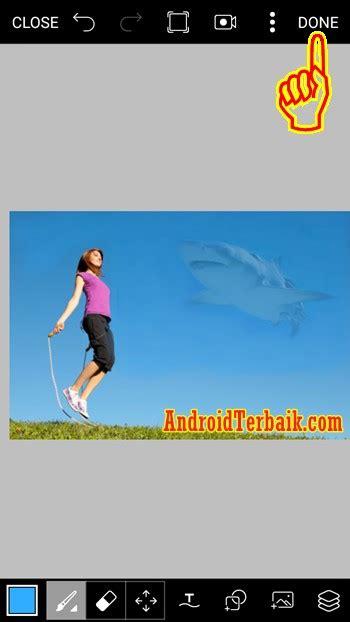 cara edit foto fisheye di android cara membuat edit foto ikan di langit dengan hp android