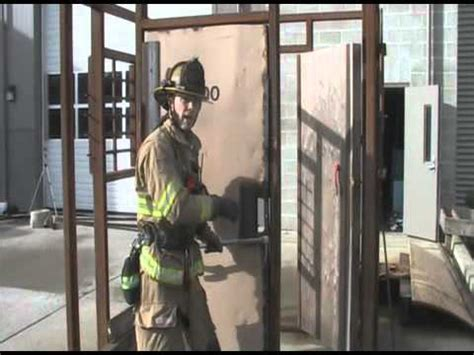 forcible entry inward swinging door forcible entry conventional outward swinging door