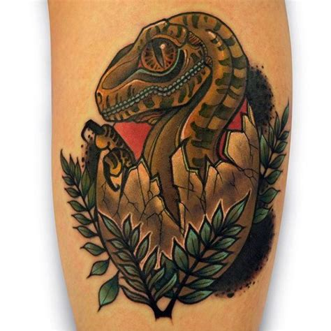50 jurassic park tattoo designs for men dinosaur ink ideas