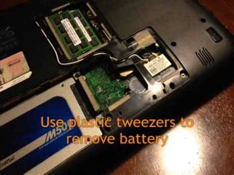 resetting dell battery change cmos bios battery dell inspiron 1564 cr2032 date