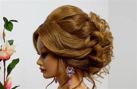 updo hairstyles for long hair how to wedding prom updo hairstyle for long medium hair makeup