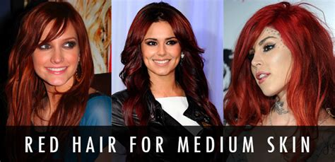 red color mood perfect hair dye is like wearing a mood how to find the perfect red hair for your skin tone hair
