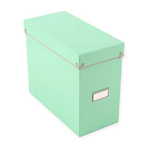 bed bath and beyond frisco frisco file box in mint bed bath beyond